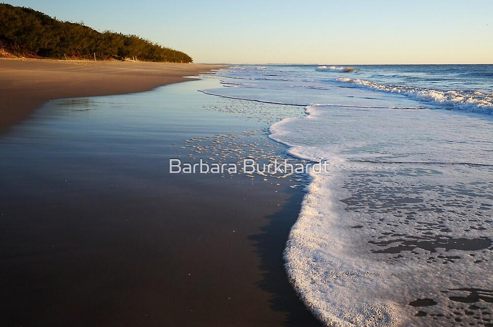 Walk this Way - Woorim Beach by Barbara Burkhardt