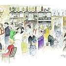 Happy Hour at the Man O' Ross Hotel by Wendy Dyer
