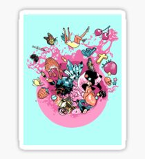 Exploding Gumball (Bubble Glum) Sticker