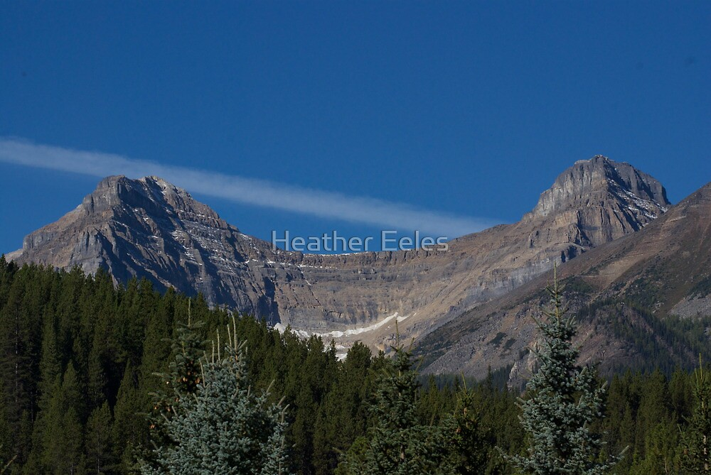 Mountain - Lake Louise by Heather Eeles