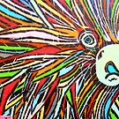 Painted Porcupine by shutterbug2010