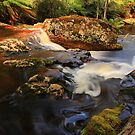 rock pools, halls falls. northeast tasmania by tim buckley | bodhiimages