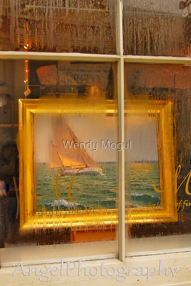 Condensation Sail  by Wendy Mogul