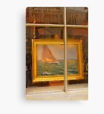 Condensation Sail  Canvas Print