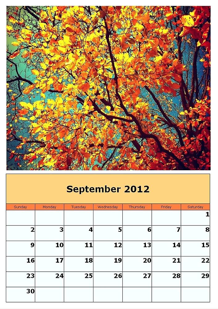 september 2012 by Annie Edison