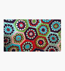 Crochet Kaleidoscope Photographic Print