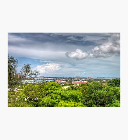 View of Nassau, The Bahamas from Fort Fincastle Photographic Print