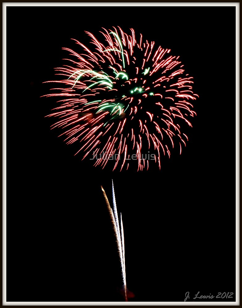Fireworks #2 by Julian Lewis
