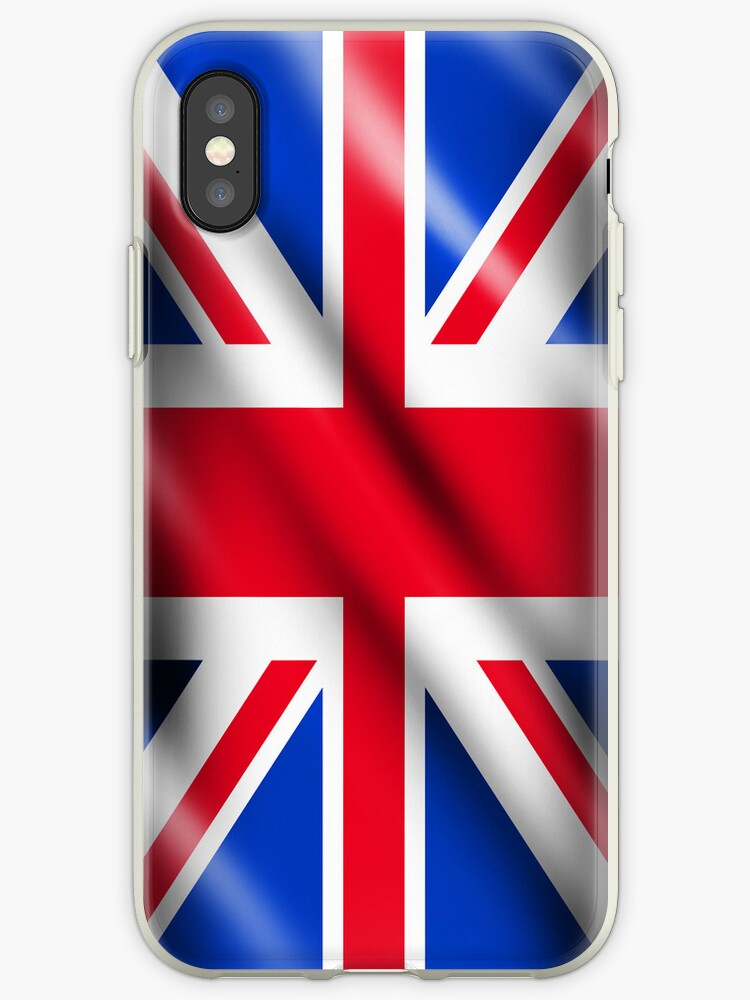Union Jack Iphone 3GS, 4, 4S & Ipod 4G Cases by Clickcreations