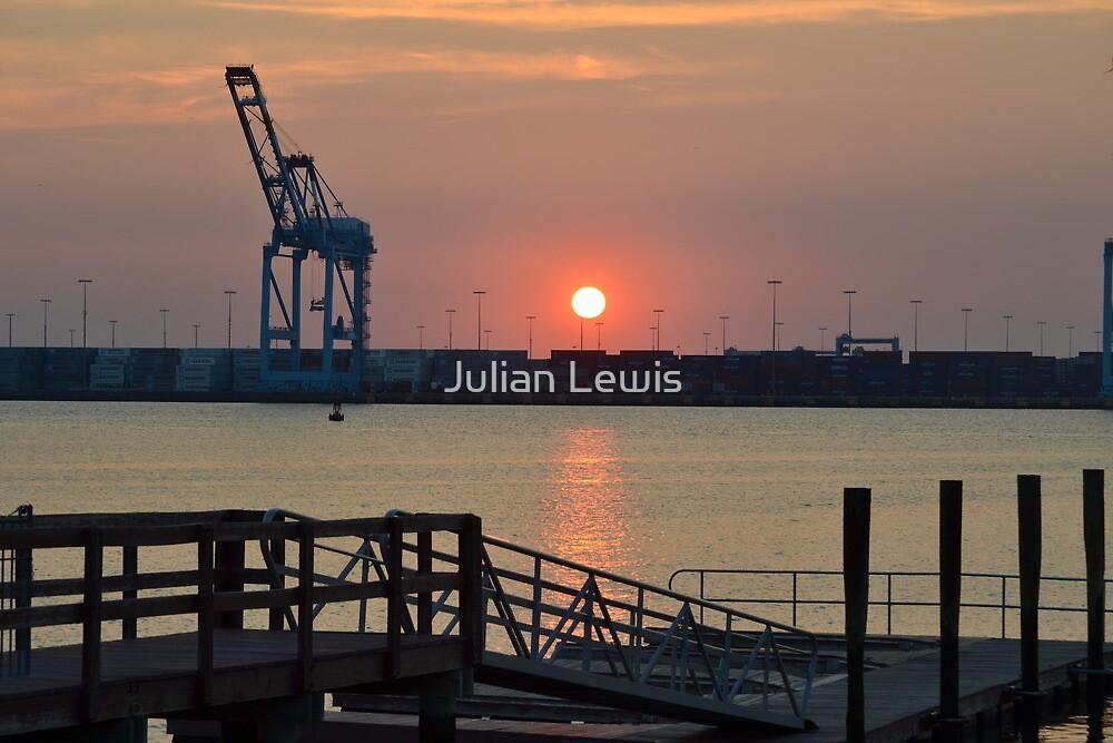 Port Newark by Julian Lewis