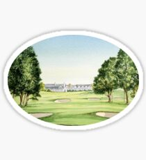 Southern Hills Golf Course 18th Green Sticker