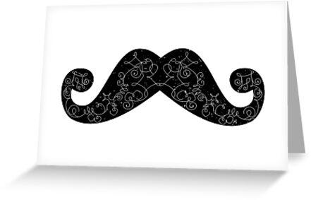 Dia De Los Mustache by indurdesign