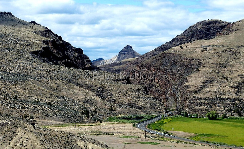 South Portal Picture Gorge - Grant County, OR by Rebel Kreklow