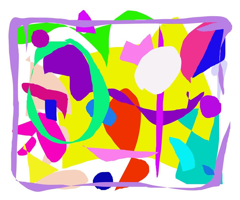 Directions Alphabet Sense Fence Avocado Paint by masabo