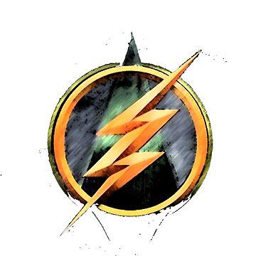 Flash Vs Arrow by Nashc4