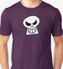 Naughty Halloween Skull Slim Fit T-Shirt