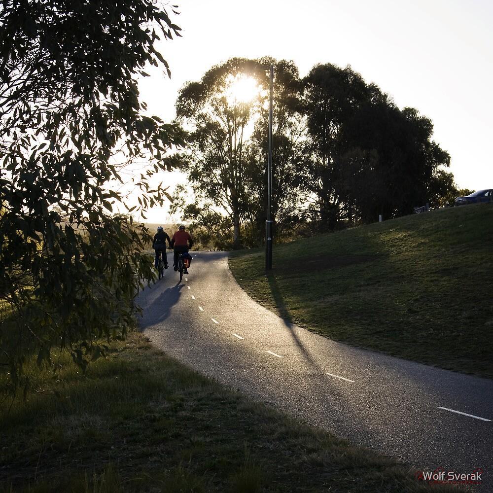Lake Burley Griffin by Wolf Sverak