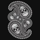 Skull Paisley V3 by ZugArt