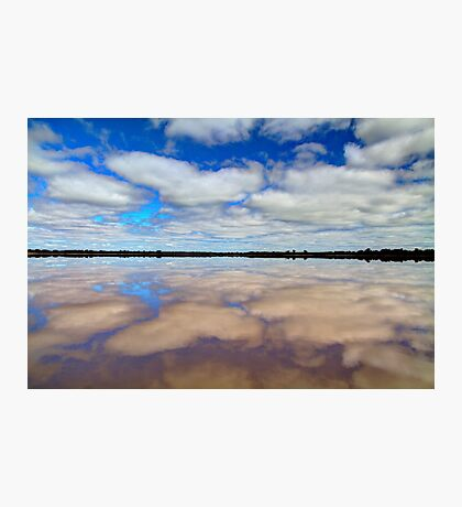 """Pink Lake Reflections"" Photographic Print"