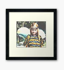 Bee Cute Framed Print
