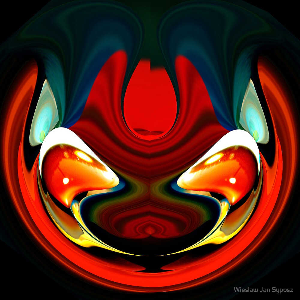 faces & creatures 043 by Wieslaw Jan Syposz