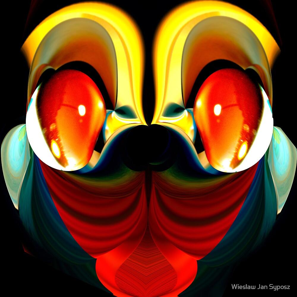 faces & creatures 044 by Wieslaw Jan Syposz