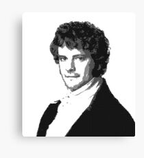 Mr Darcy Canvas Print