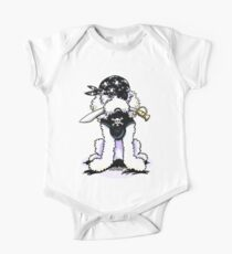 Poodle Pirate One Piece - Short Sleeve