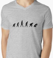 99 steps of progress - Imagination Mens V-Neck T-Shirt