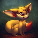 Fire Starter Pokemon Fan Art - Fennekin by MylaFox