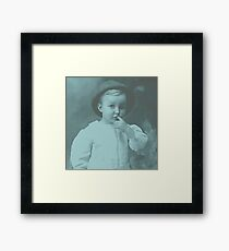 Small Child Framed Print