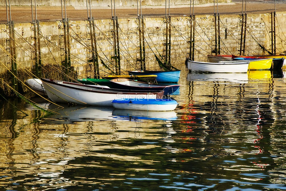 Row-Boats ~ Ready And Waiting  by Susie Peek
