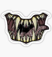 Pegatina Monster Mouth