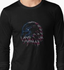 American Patriotic Dots Eagle Flag T-Shirt T-Shirt
