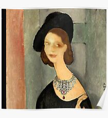 ( MY FUNNY GALLERY...I & MODIGLIANI)       Ah, you thought that i was ... Poster