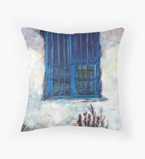 Greek Facade Throw Pillow