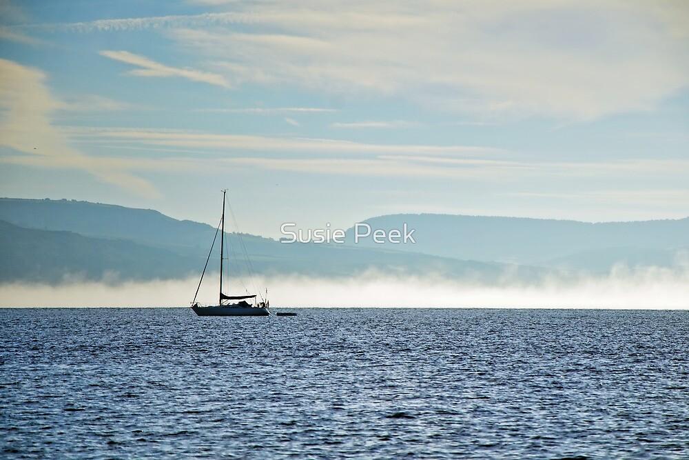 Alone In The Mist  by Susie Peek