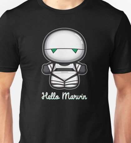 Hello Marvin Unisex T-Shirt