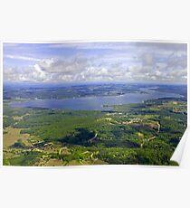 lake leelanau Michigan Poster