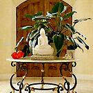 Buddha and Foyer by Anne  McGinn