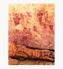 Sego Canyon Pictographs Photographic Print