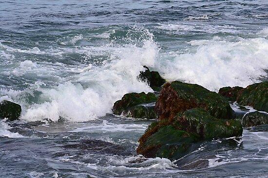 Waves crashing by joyfulmoments61