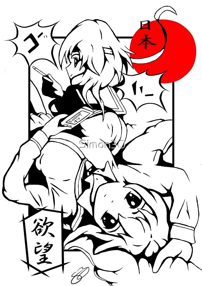 Manga Girls by Simon30