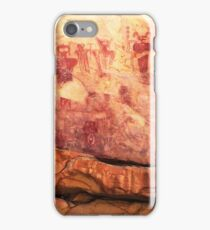Sego Canyon Pictographs iPhone Case/Skin