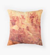 Sego Canyon Pictographs Throw Pillow