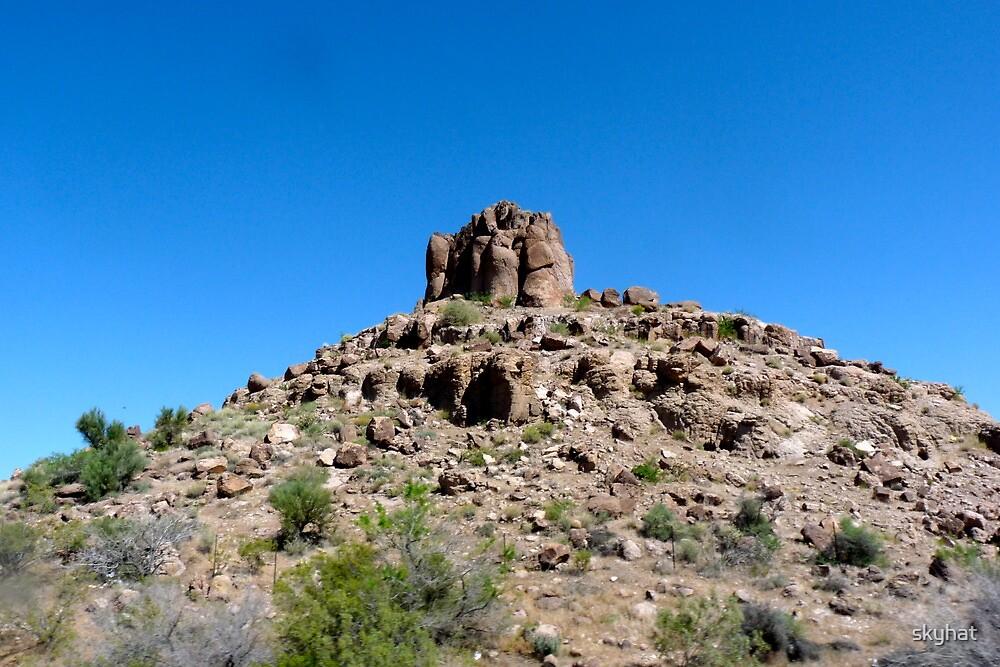 Cerrat Mountain by skyhat