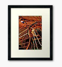 Rusty Dragon! Framed Print