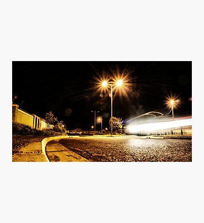Cars Hiss By Photographic Print
