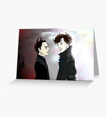 Dance With the Devil  Greeting Card