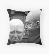 act of contrition Throw Pillow